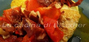 Pollo al chilindròn (Pollo in umido con peperoni)