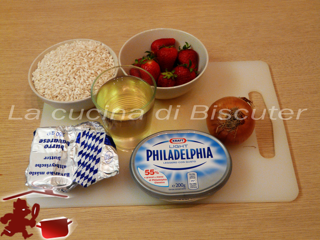 Risotto alle fragole 1