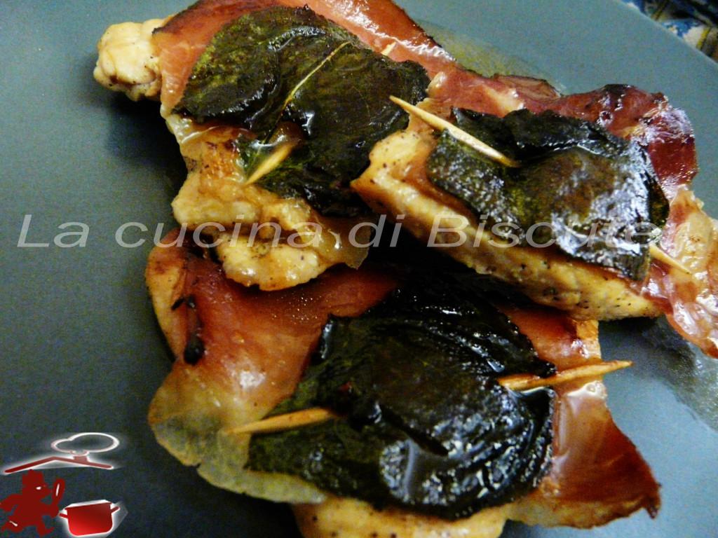Saltimbocca di pollo -