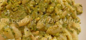 Malloreddos al pesto di pistacchio