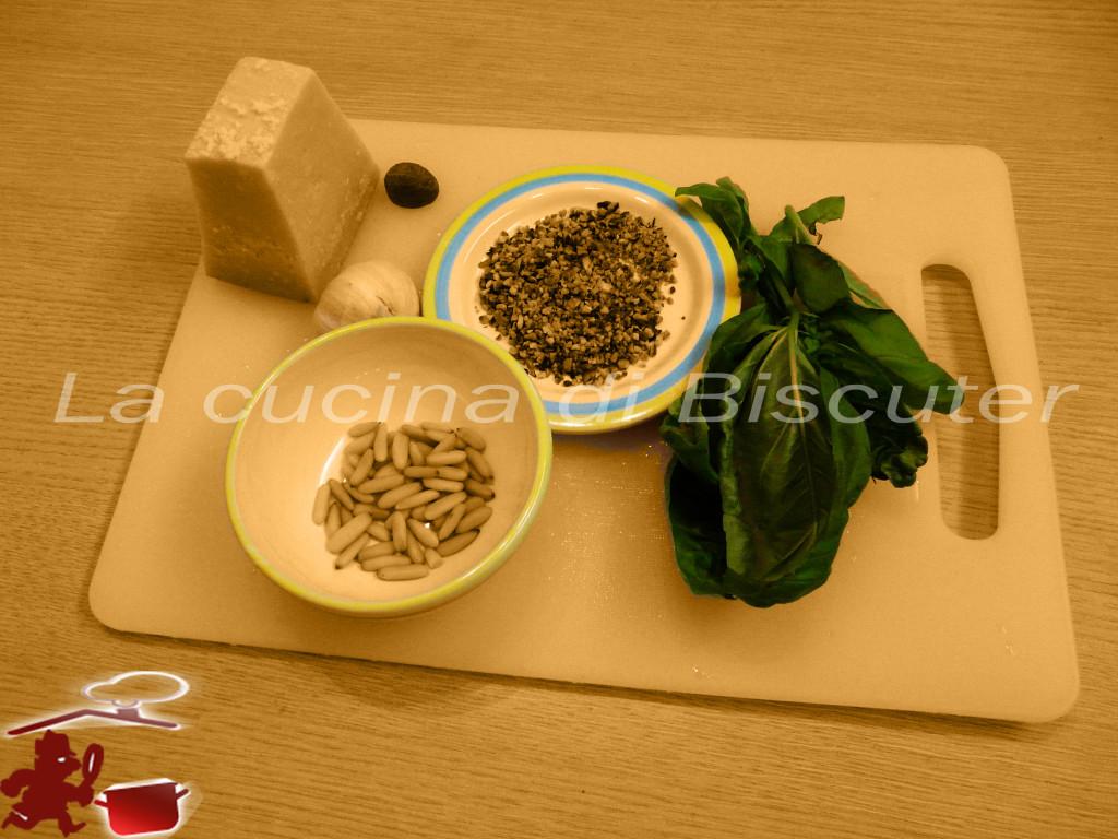 Gnocchetti sardi al pesto di pistacchio 2
