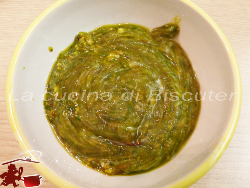 Gnocchetti sardi al pesto di pistacchio 8