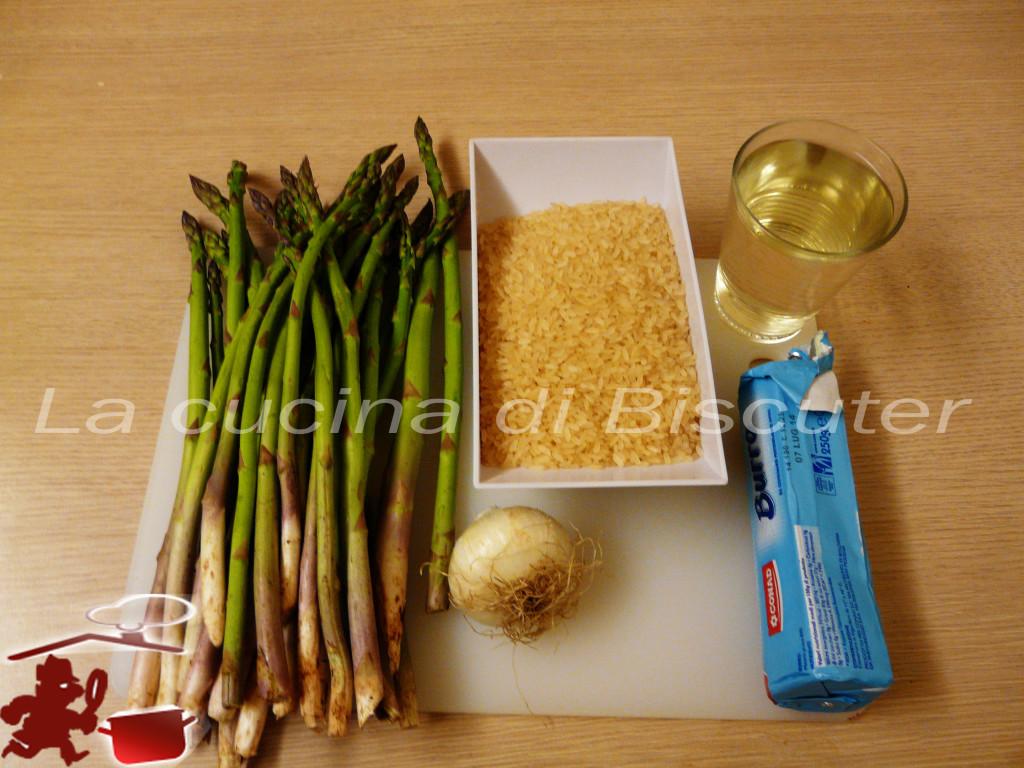 Risotto cremoso agli asparagi 1
