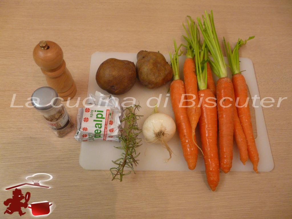 Vellutata di carote 1