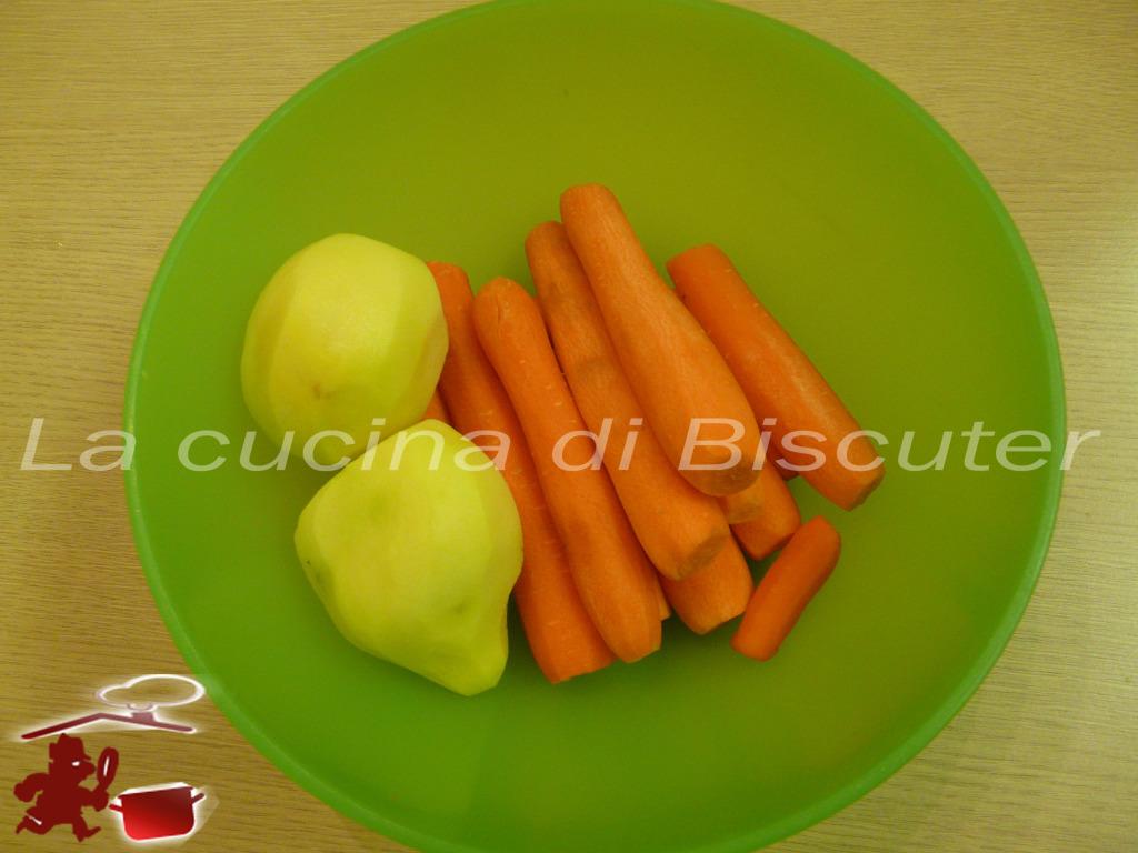 Vellutata di carote 2