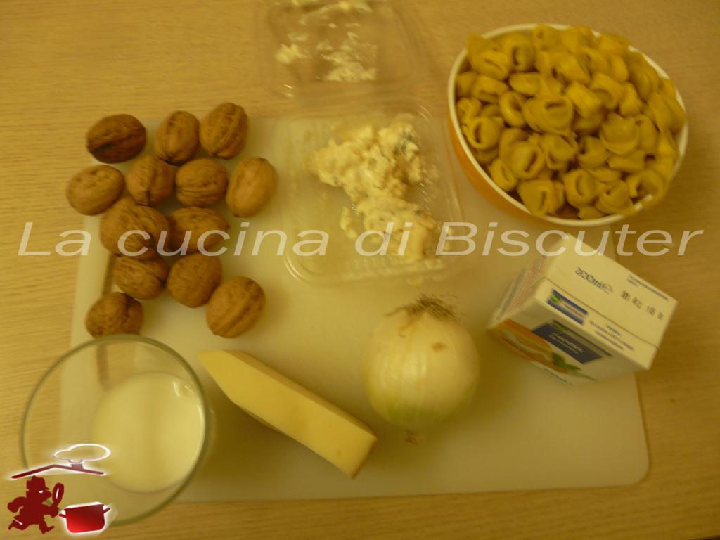 Tortellini  gorgonzola e noci 1