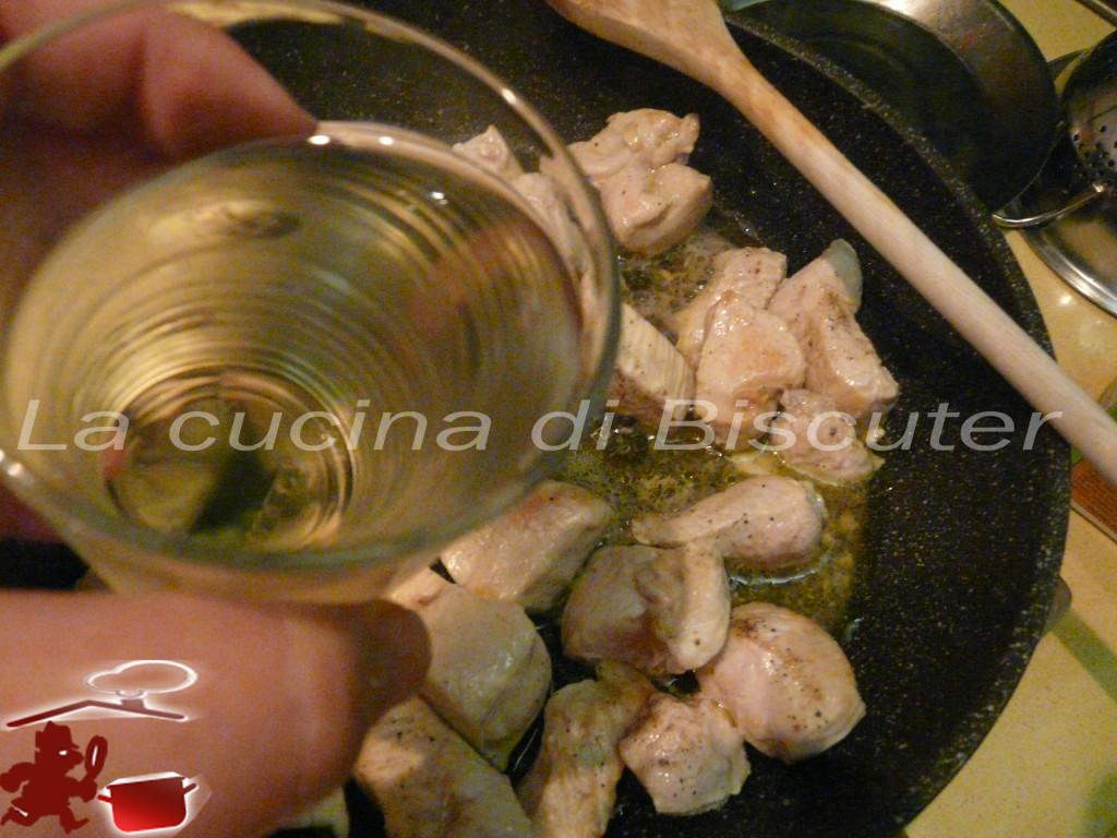 Bocconcini di pollo al profumo di pesca 6