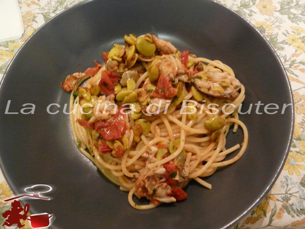 Spaghetti con arselle alla Biscuter