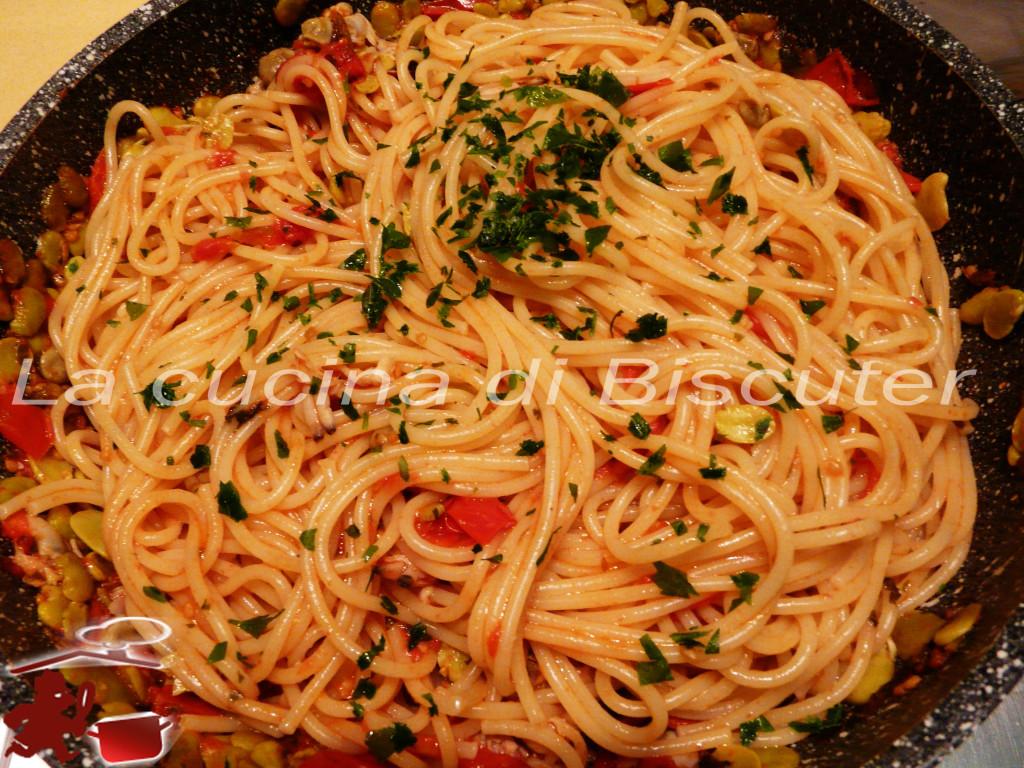 Spaghetti con arselle alla Biscuter 16