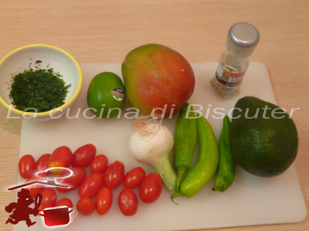 Guacamole al mango 1