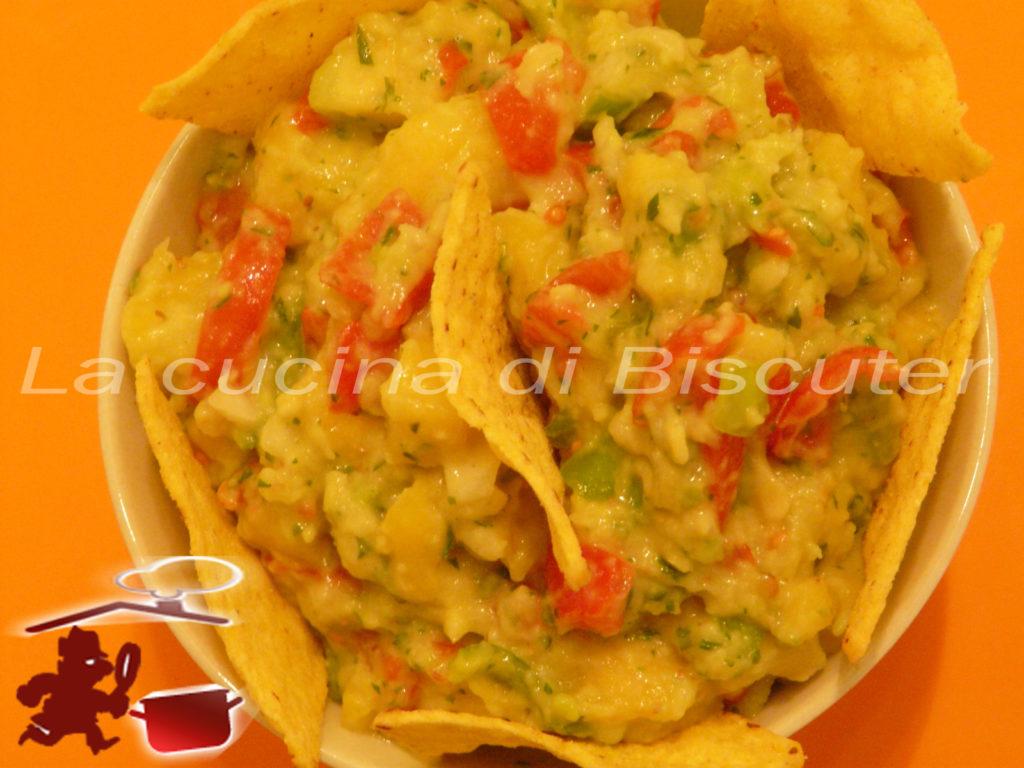 Guacamole al mango _