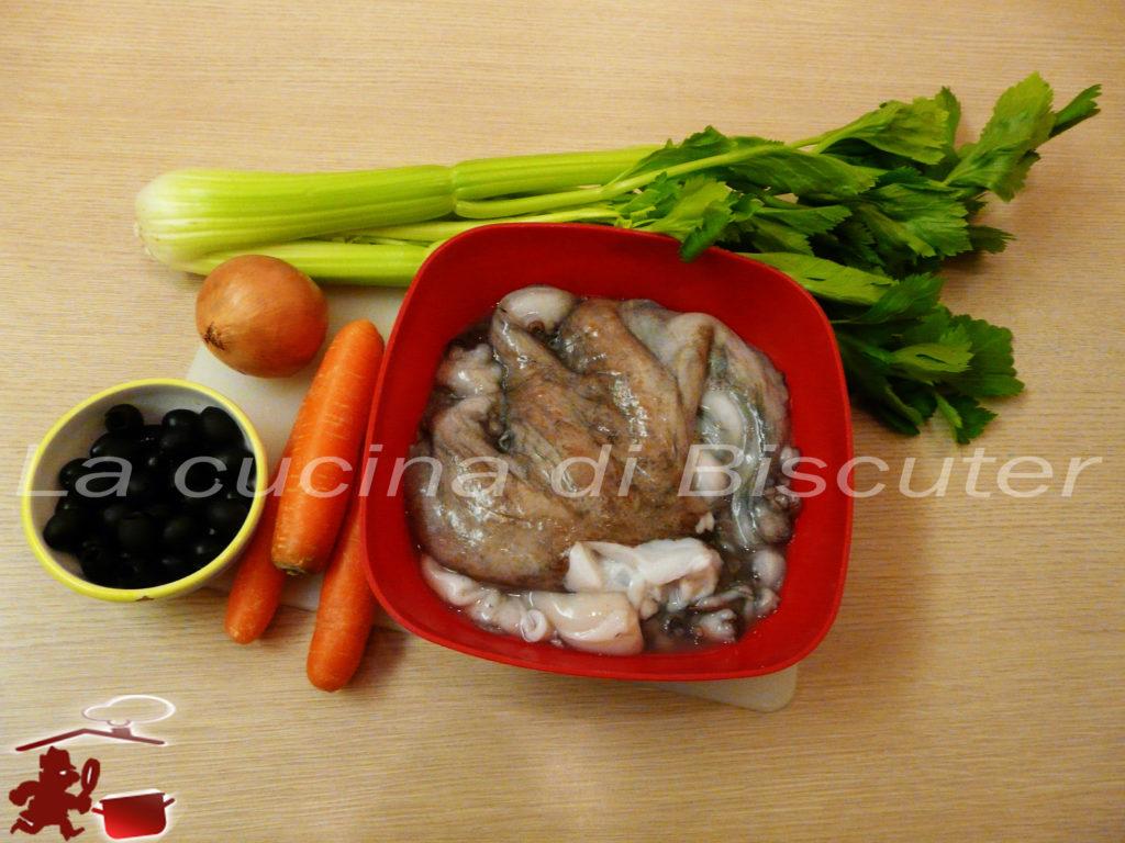 Insalata di polpo con verdure 1
