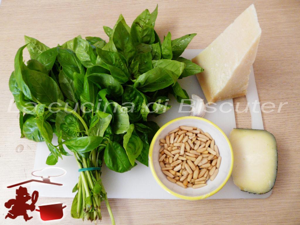 Pesto al basilico 1