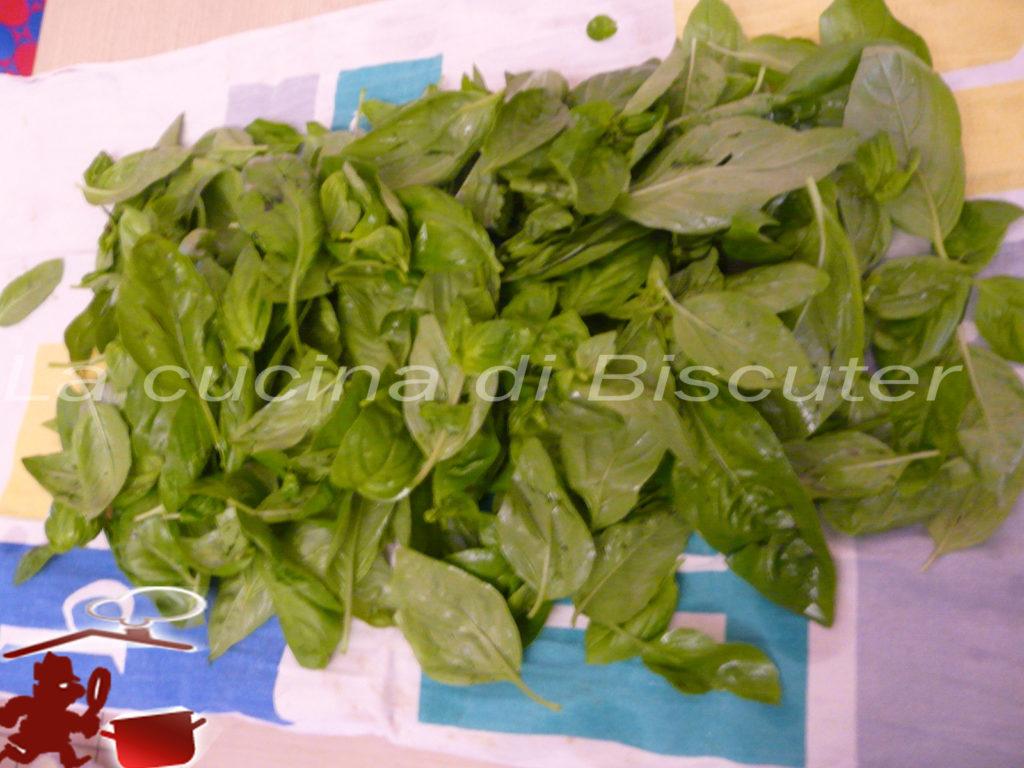 Pesto al basilico 2