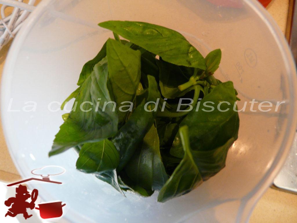 Pesto al basilico 4