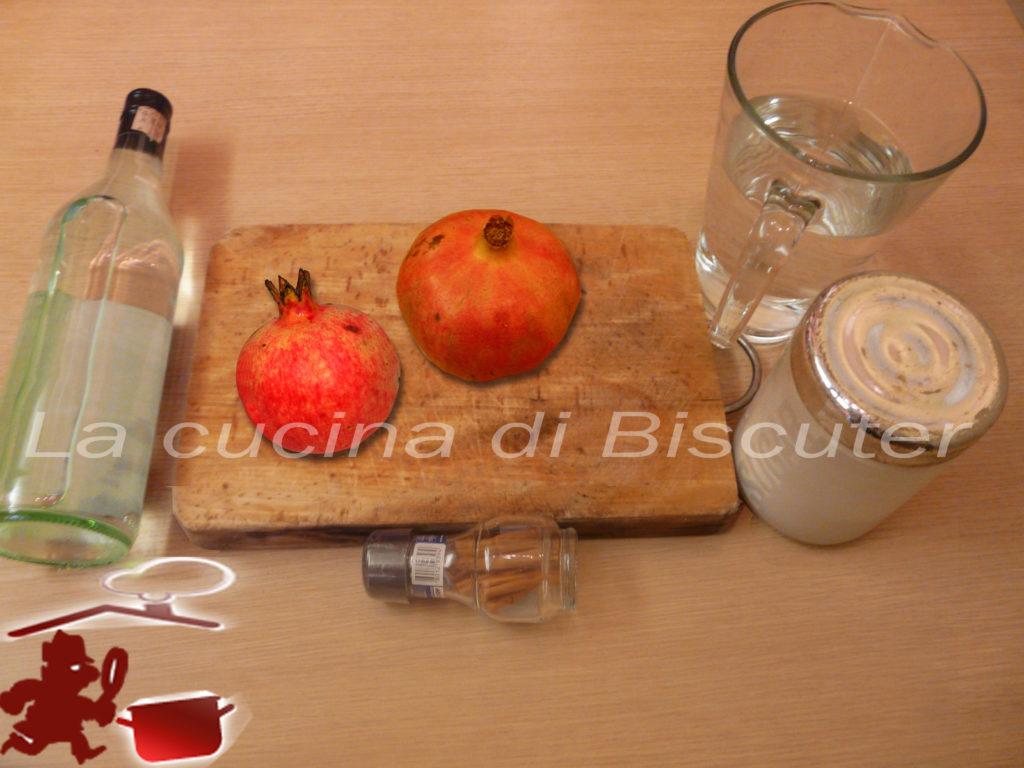 Liquore al melograno 1